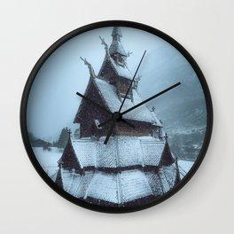 Borgund Stavkirke I Wall Clock