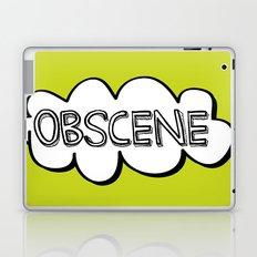 Obscene Laptop & iPad Skin