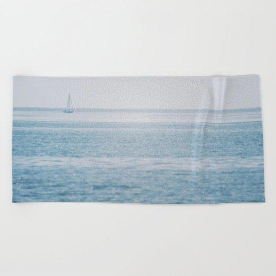 Shimmering Sea Beach Towel