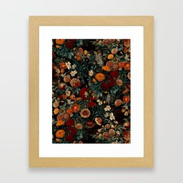 EXOTIC GARDEN - NIGHT XXI Framed Art Print