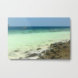Banana beach, Koh Hey island, Thailand Metal Print
