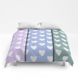 3x4 pastel Amor Comforters
