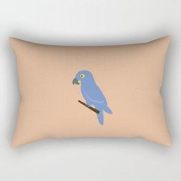 Ararinha Azul Rectangular Pillow