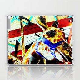Carousel Giraffe Laptop & iPad Skin
