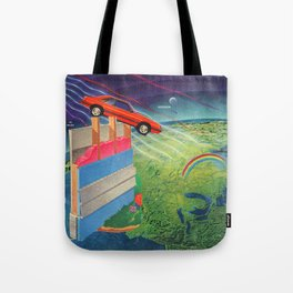 Intergalactic Travel Tote Bag