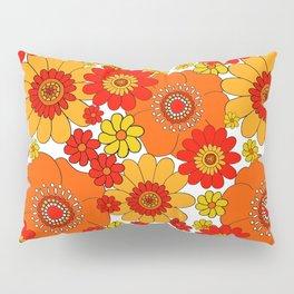 Pushing daisies red Pillow Sham