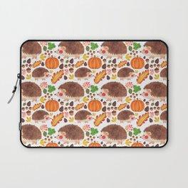 Autumn Hedgehog Laptop Sleeve