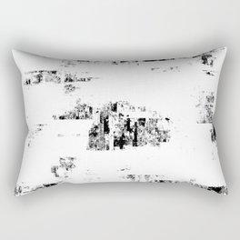 Glitch Panda 9 Rectangular Pillow