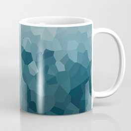 Ice Blue Mountains Moon Love Coffee Mug