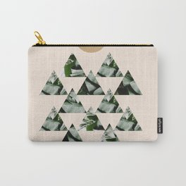 Tropical & Geometry II Carry-All Pouch