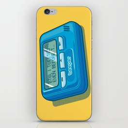 Text Hipster iPhone Skin