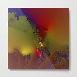Eruption of suppressed feelings Metal Print