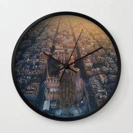 La Sagrada Familia - Barcelona, Spain Wall Clock