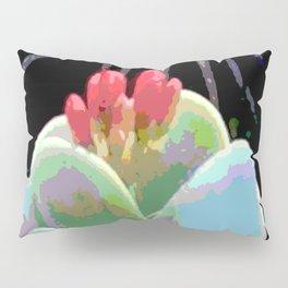Cactus Flower Abstract Pillow Sham