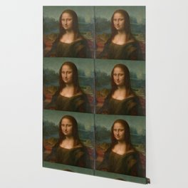 Mona Lisa Classic Leonardo Da Vinci Painting Wallpaper