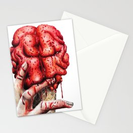 Brain cone Stationery Cards