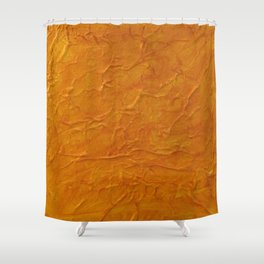 Waves of Indian Summer Shower Curtain