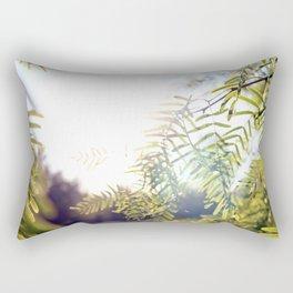 Leaves & Light Rectangular Pillow
