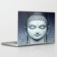 buddah Laptop & iPad Skins featuring BUDDAH by I Love Decor