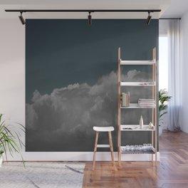 Cloudy blue Wall Mural