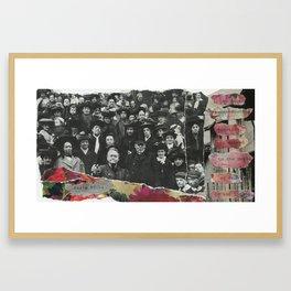 we took sweet council Framed Art Print