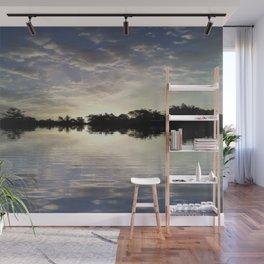 Sunset Reflection Wall Mural