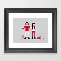 The White Stripes Framed Art Print