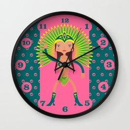 Brazil is Carnival  Wall Clock