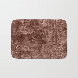 Cognac Oil Painting Color Accent Bath Mat