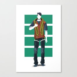 rope friend Canvas Print