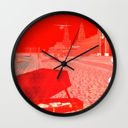 SquaRed: Golden Rule Wall Clock