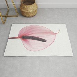 Pink Calla Lily Rug