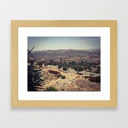 Fez - the ancient city. Original photograph. Framed Art Print