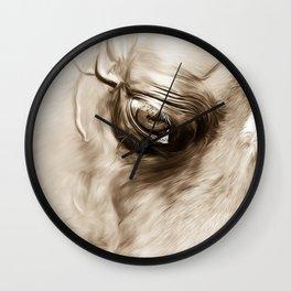 Arabian Stallion 1f Wall Clock