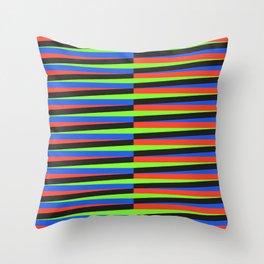 Kinetic Art Throw Pillow