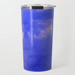 Aerial Blue Hues II Travel Mug