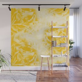 Yellow Peonies Dream #1 #floral #decor #art #society6 Wall Mural