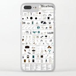 The Wizarding World Clear iPhone Case