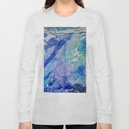 Water Scarab Fossil Under the Ocean, Environmental Long Sleeve T-shirt