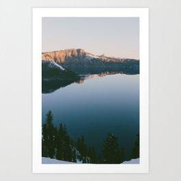 Crater Lake, Oregon. Art Print