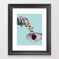 SWEETS Framed Art Print