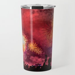 Beach Celebration - Dubai UAE Travel Mug