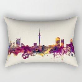 Auckland New Zealand Skyline Rectangular Pillow