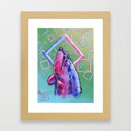 RattieHead Framed Art Print