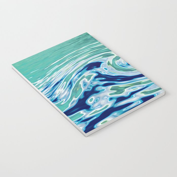 OCEAN ABSTRACT 2 Notebook