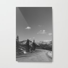 Yosemite Road Trip Metal Print