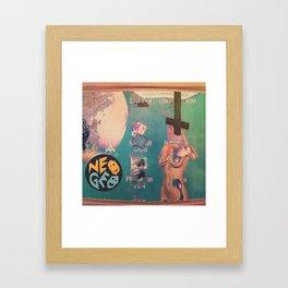SPΔCE.com Framed Art Print
