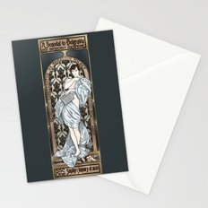 A Scandal in Belgravia - Mucha Style Stationery Cards
