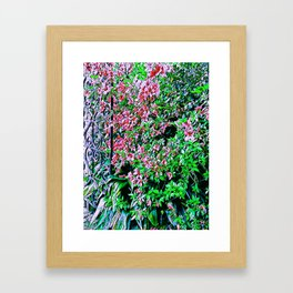 Azalea Gate Framed Art Print