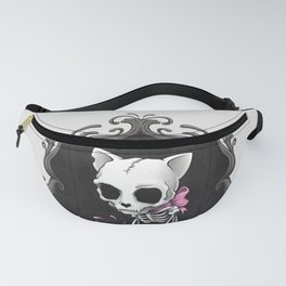 Bone Kitty Fanny Pack